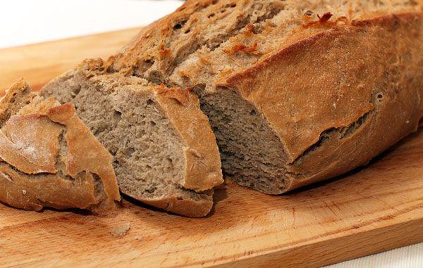 Гречневый хлеб с семечками. Buckwheat bread with sunflower seeds.