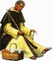 Bienaventurado Martín,   Siempre compasivo,   Padre de los pobres y necesitados,   Auxilio de los enfermos y los afligidos,   Y tan cercano...