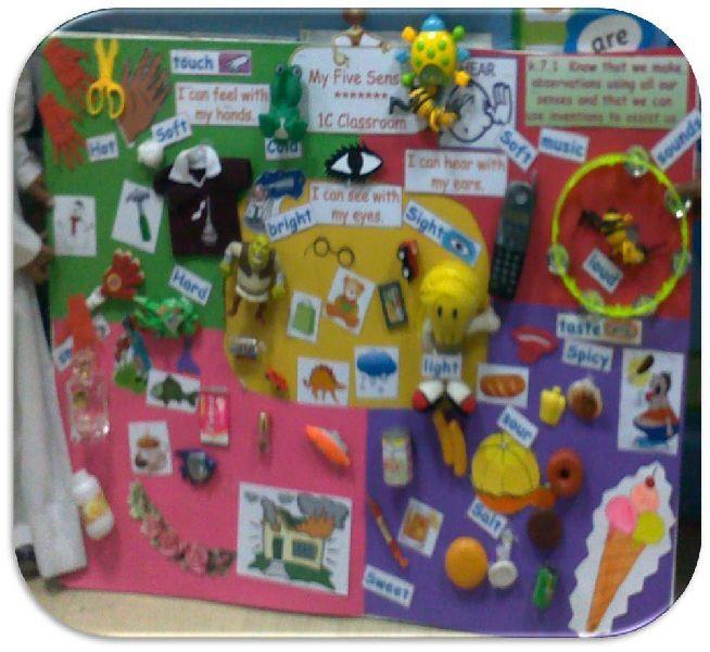 The Five Senses classroom display photo - Photo gallery - SparkleBox