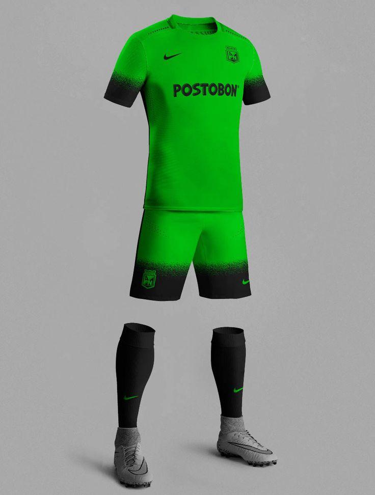 Nike 15-16 Third Kit Inspired Football Kits | Atlético Nacional