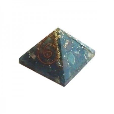 Blood Stone Orgone Energy Pyramid