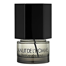 La Nuit de L'Homme  by Yves Saint Laurent tells a story of intensity, bold sensuality, and seduction that lies half-way between restraint and abandon. Bright, masculine freshness combines with sophistication and nonchalance to create a fresh, yet dee