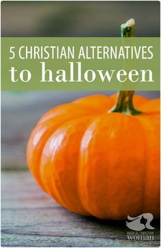 Halloween is one of those strange holidays Christians deal with. Some celebrate it, some don't. It's a odd kind of soul-o-war. Here are Christian alternatives for Halloween.
