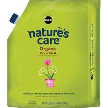 Bone meal fertilizer for citrus tree