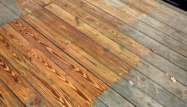 Before after deck - guide to deck refinishing