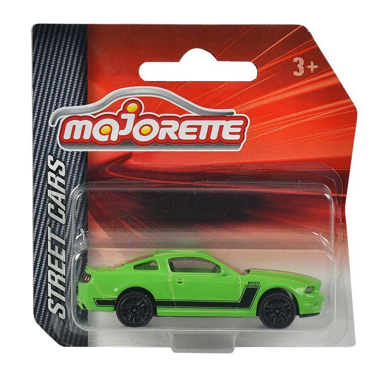 Rijd een spannende race met deze metalen auto van Majorette. Verschillende uitvoeringen worden door elkaar geleverd. Afmeting: auto ca. 7 x 3 x 2 cm - Majorette Auto