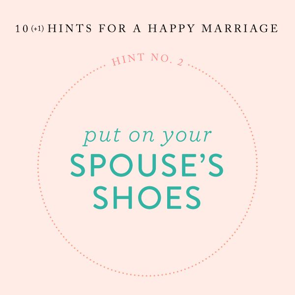Hints for a Happy Marriage!
