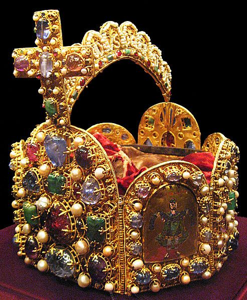 The Imperial Crown   Western Germany 2nd half of the 10th century