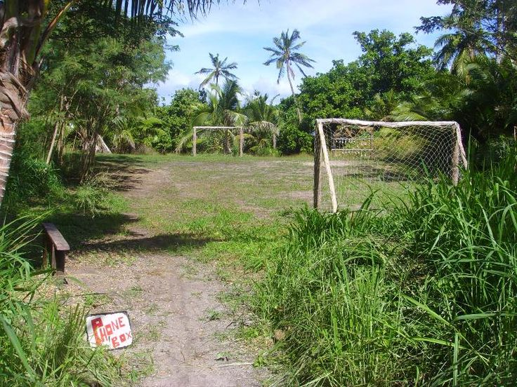 Paradise football pitch - Vorovoro, Fiji (Tribewanted)