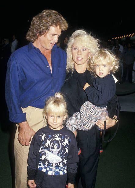 Actor Michael Landon, wife Cindy Landon, daughter Jennifer ...
