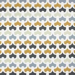 Pembury Saffron 100% Cotton 137cm 64cm Curtaining