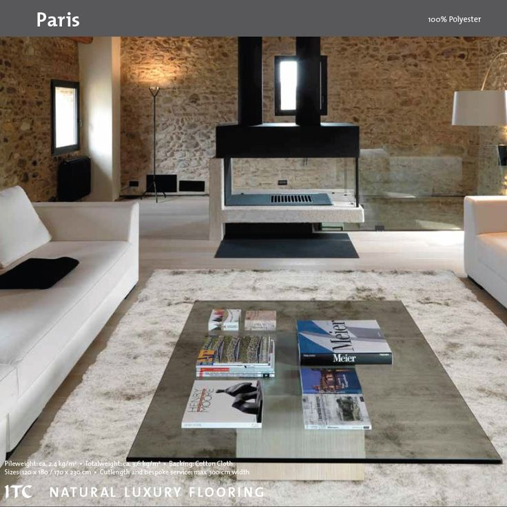 PARIS White - ITC Rugs - Dywan - ITC Natural Luxury Flooring - DECORTIS.COM