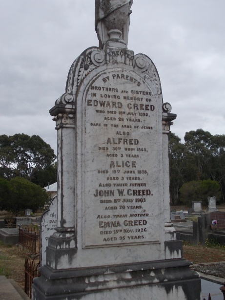 Pioneer obituaries from the Western District of Victoria, Australia