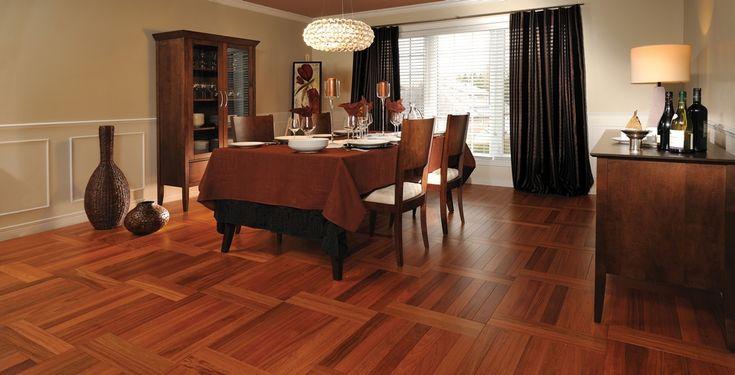 L'ambiance Nature, des planchers de bois franc authentiques | Aménagement Herringbone