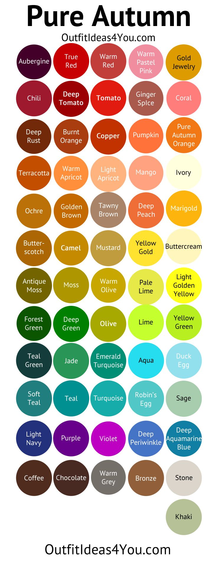 Warm Color Palette Custom Best 25 Warm Autumn Ideas On Pinterest  Skin Tone Color Warm Inspiration