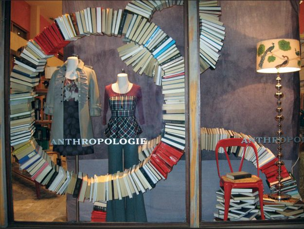 Floating Books | Community Post: 12 Anthropologie Window Looks You Can Steal (And How To Get Them)
