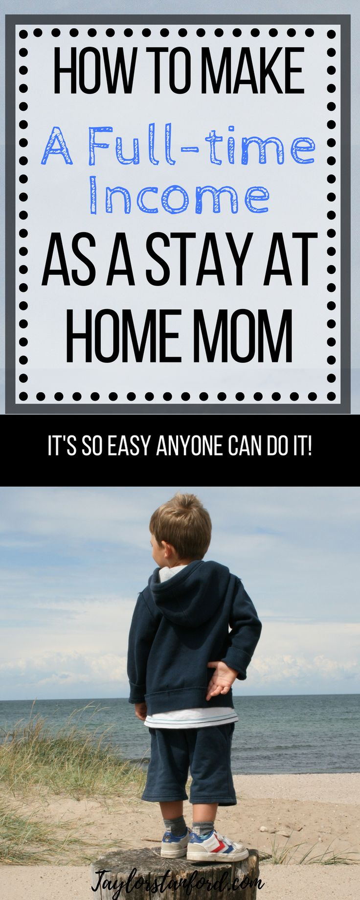 How to make money as a stay at home mom. #stayathomemom #makemoneyonline #momblogger