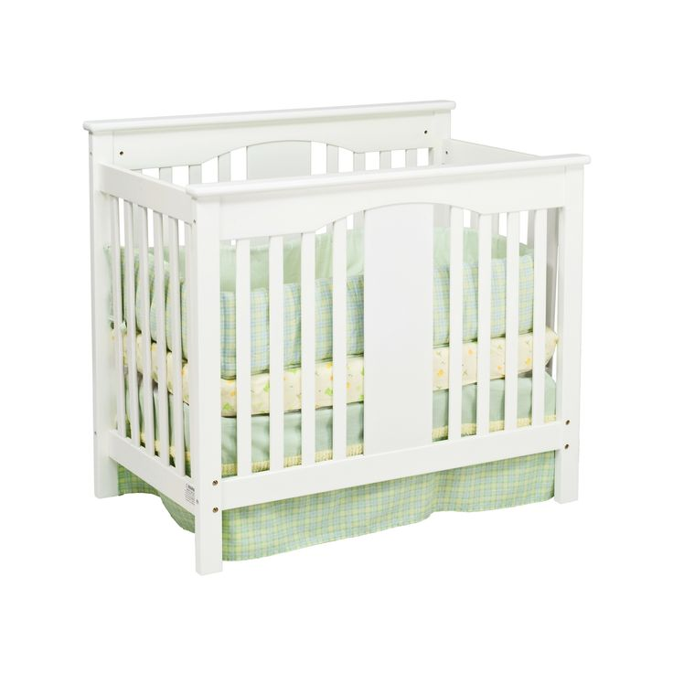 white small cribs for small spaces