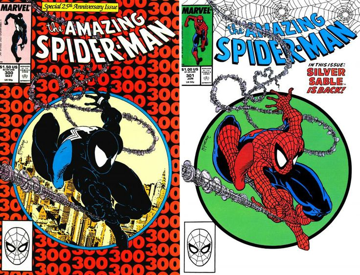 Amazing Spidr-Man #300 #301