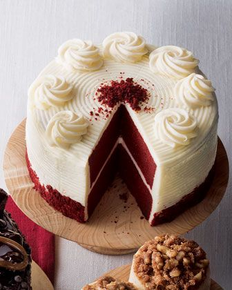 Red Velvet Cake... delicious cake if made right. Red velvet cake can be difficult to make, some people have difficulty with making it nice and moist, some have difficulty with proper cocoa flavor.