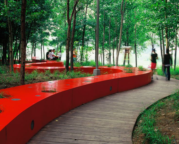 Qinhuangdao Red Ribbon Park - Explore, Collect and Source architecture