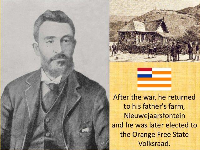 In December 1899, President Steyn appointed De Wet as Field General under General Cronje. Both General De La Ray and De We...
