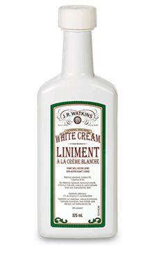white cream liniment