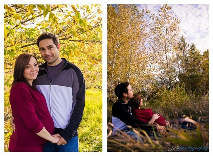 maternity photography outdoors, fall. jals photography » Stirling, ON