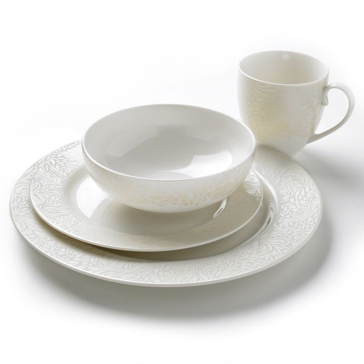 Prezola - Denby Monsoon Lucille Gold 16 Piece Dinner Set - Denby