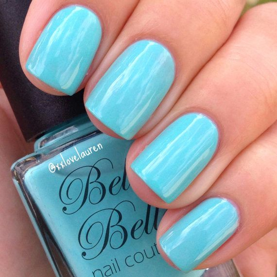 Tiffany Blue Gel Nail Polish: 95 Best Nails Images On Pinterest