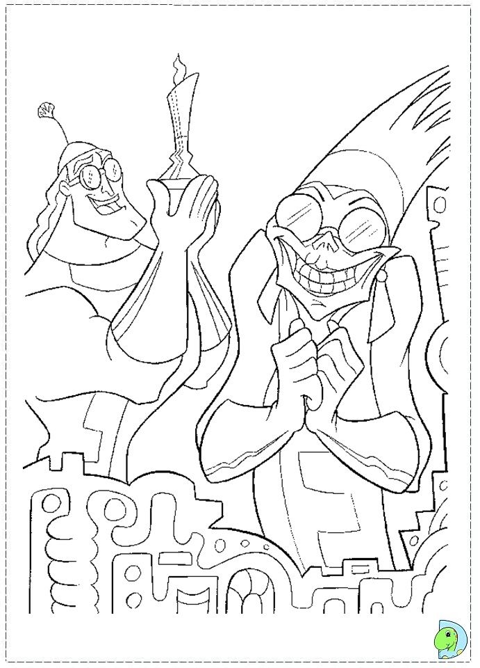 21 best Disney The Emperoru0027s New Groove coloring pages Disney images - new dltk coloring pages alphabet