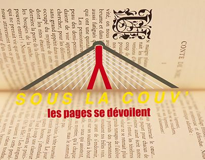 "Check out new work on my @Behance portfolio: ""SOUS LA COUV' 