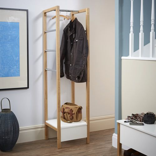 Beautiful Hallway Clothes Rack