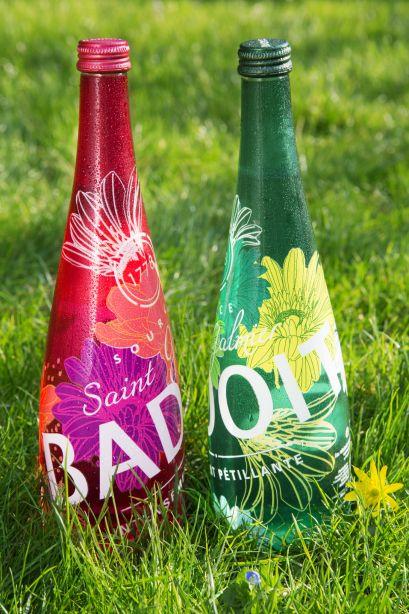 Nouvelles bouteilles Badoit été 2014. Avec un concours dedans qui pétille !