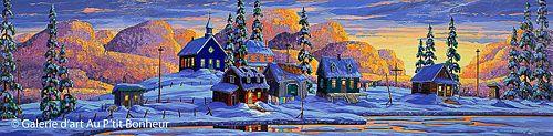 Vladimir Horik, 'Toutes les couleurs dans ma boîte', 20'' x 80'' | Galerie d'art - Au P'tit Bonheur - Art Gallery