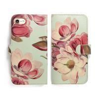 Leather Folio Phone Case - Magnolia