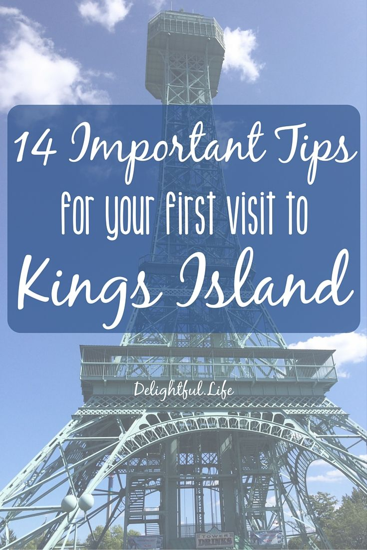 14 Important Tips for your First Visit to Kings Island - what to see, do, eat, and experience at Kings Island in Cincinnati, Ohio