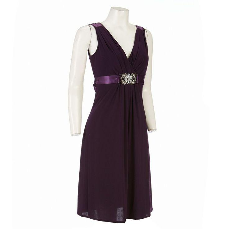 Fancy Double V Neck Rhinestone Dress Burlington Coat FactoryRhinestone DressHoliday DressesBridesmaid