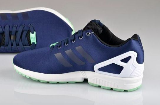 purchase cheap b6ec5 7df55 Uk Adidas Zx Flux Torsion Running White Navy K Collegiate Y ...