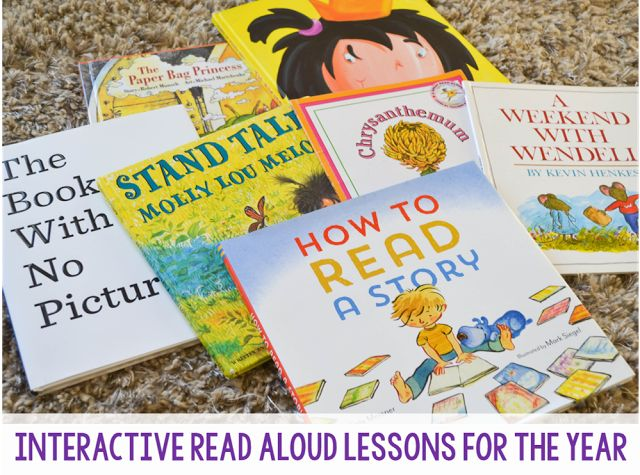 Read Aloud Lessons - TGIF! - Thank God It's First Grade!