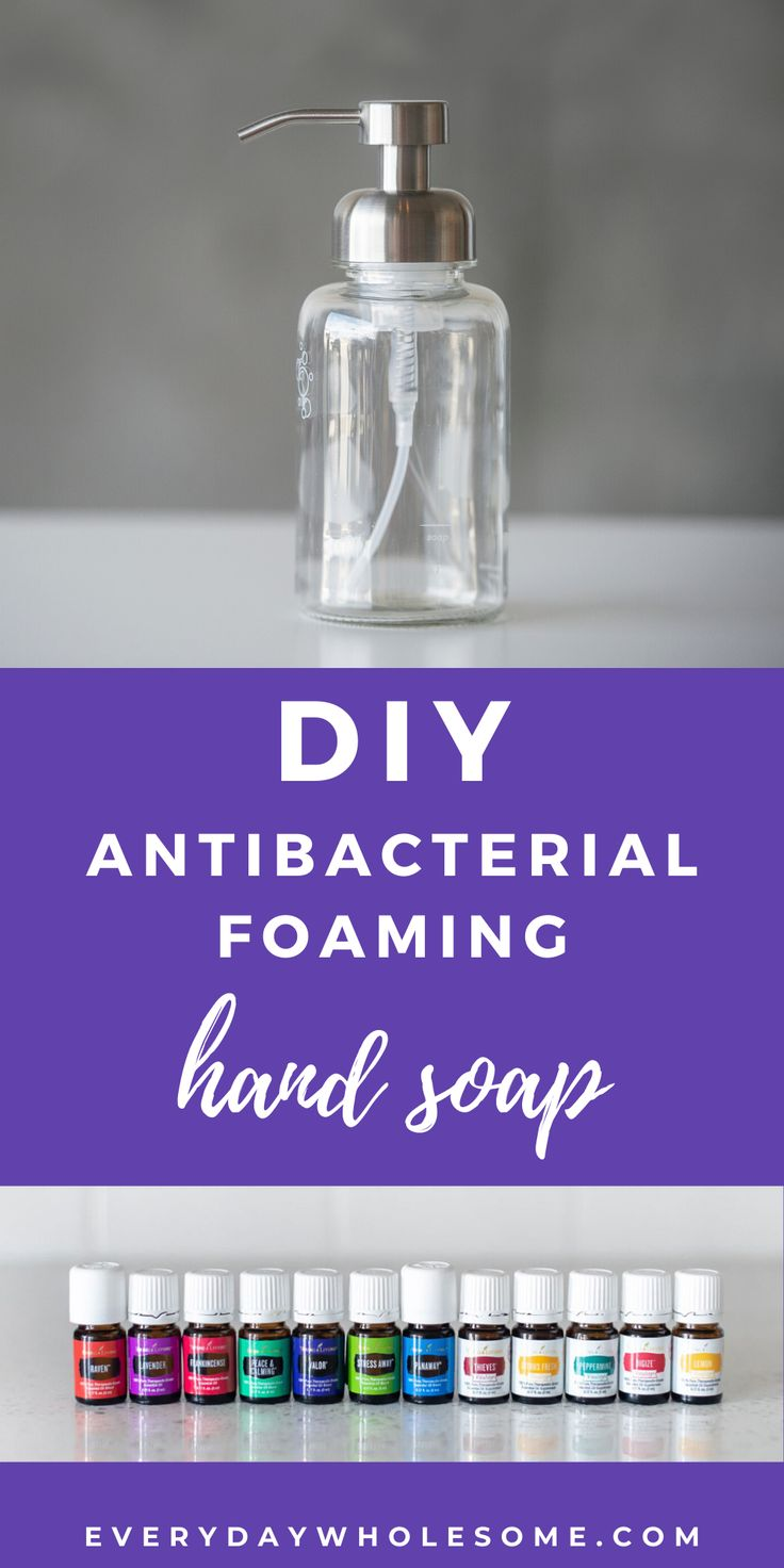 How to make your own easy and cheap antibacterial hand