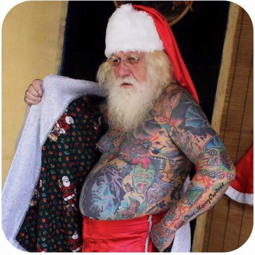 Christmas Tattoo Artists