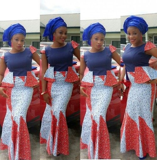 Nigerian Traditional Attire Latest African Fashion African Women Dresses African Prints