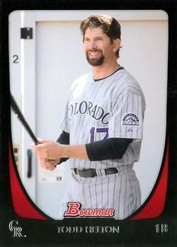 2011 Bowman #142 Todd Helton Front