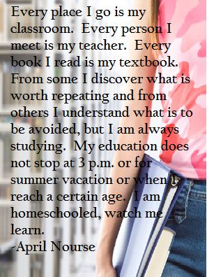 I am #Homeschooled, Watch Me Learn