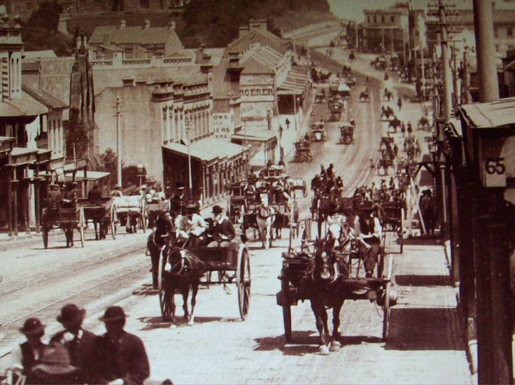 Somewhere on Parramatta Rd, c1879-89