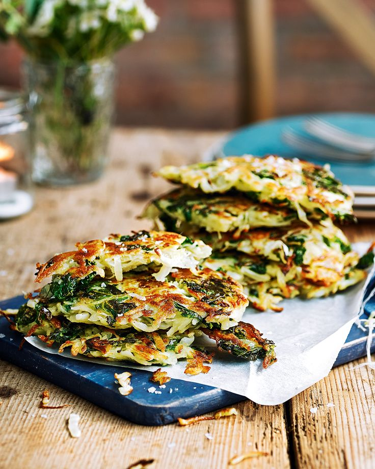 Move over potato rösti, there's a new side dish in town. This recipe includes cabbage and kale for a little extra oomph – enjoy alongside a roast for dinner or poach some eggs for a tasty brunch.