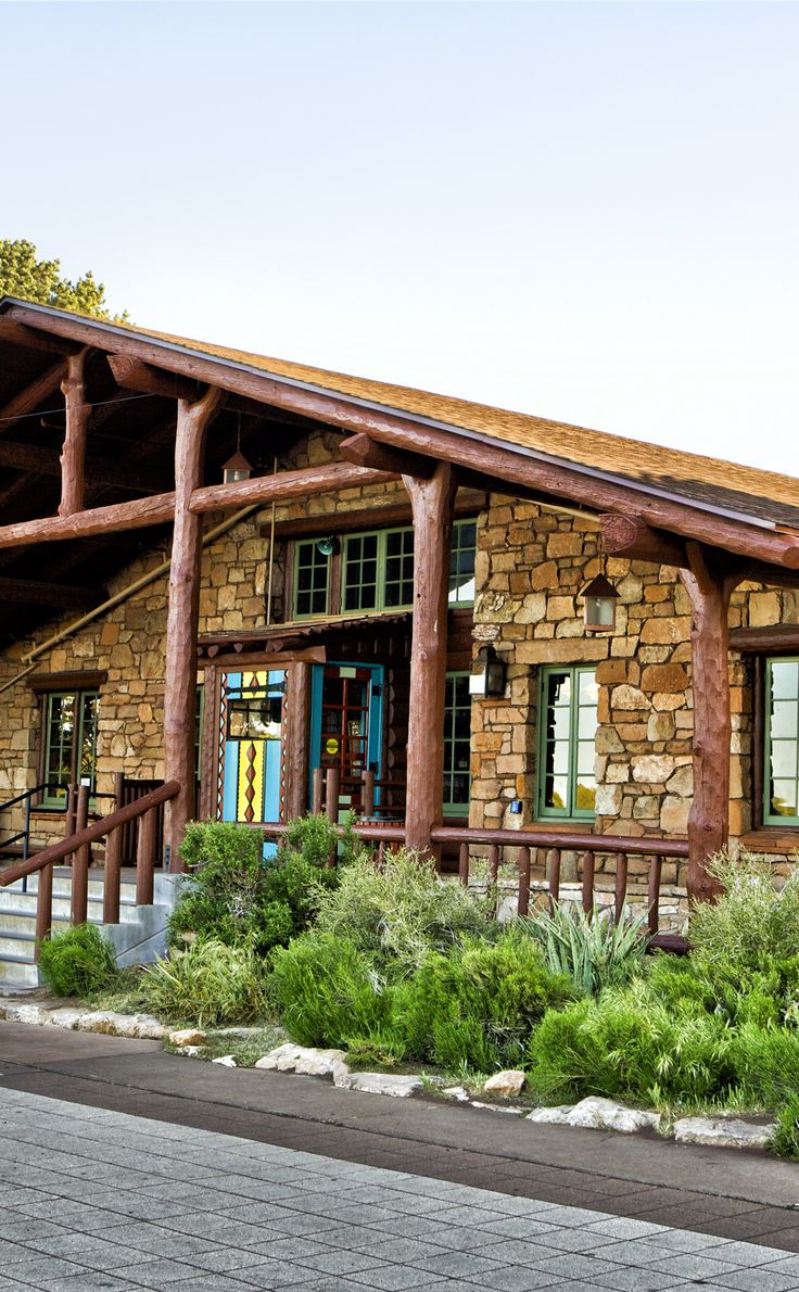 Bright Angel Lodge  | Travel | Vacation Ideas | Road Trip | Places to Visit | Grand Canyon Village | AZ | Hotel | Cottage / Cabin Rental