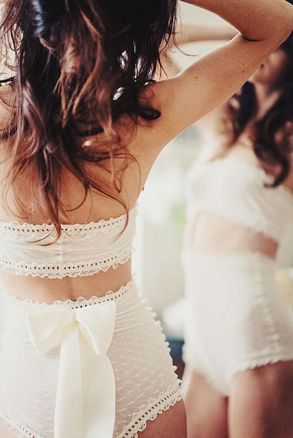 lace & bows. | Flickr - Photo Sharing!