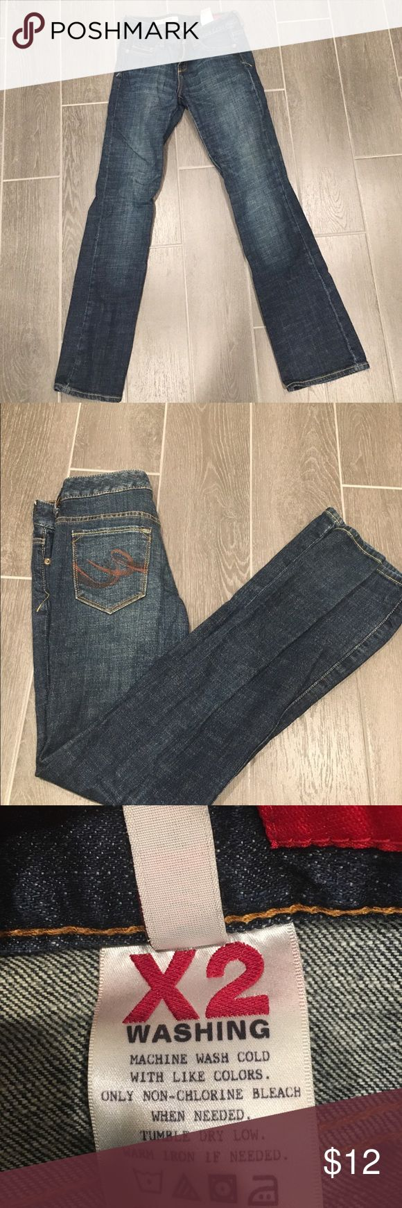 Bootcut Women's Jeans Bootcut jeans that are low rise, perfect for winter  Gently worn, like new   Size 0 Jeans Boot Cut